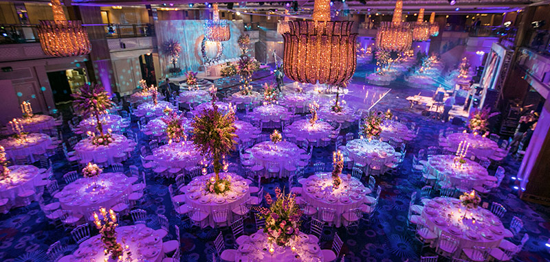 wedding event theming