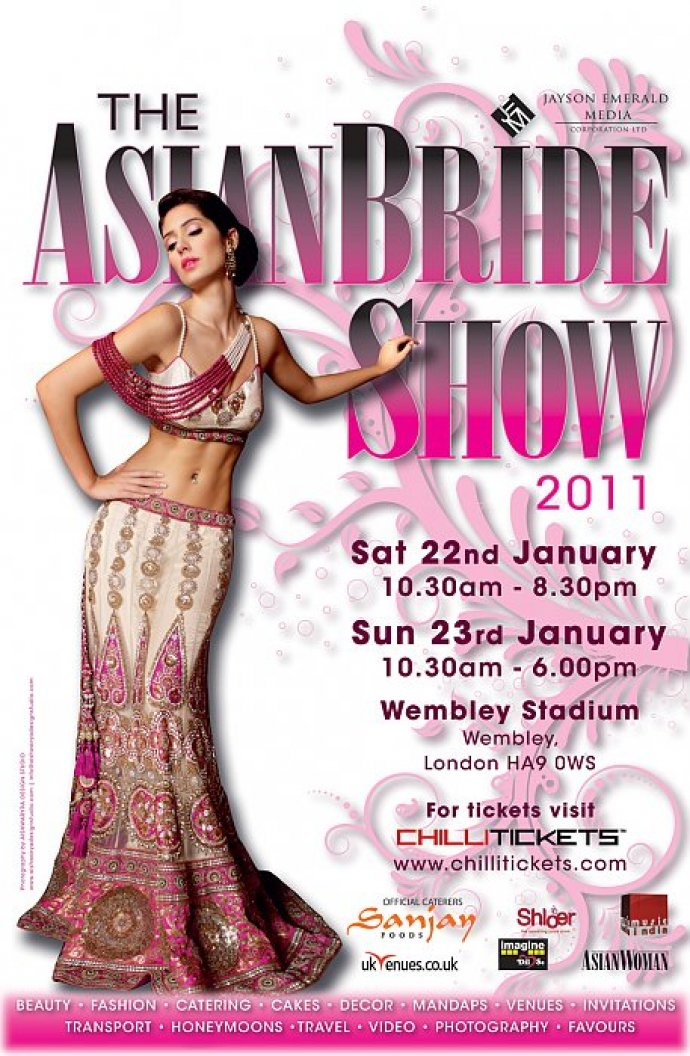 The Asian Bride Show 2011 At Wembley Stadium Featuring Kudos