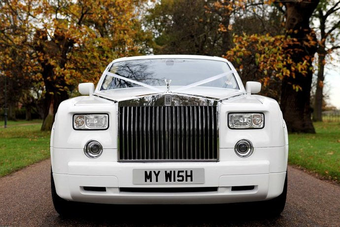 Kudos' 'MY W15H' Phantom Wins Wedding Car Of The Year At Transport Broker Awards 2012