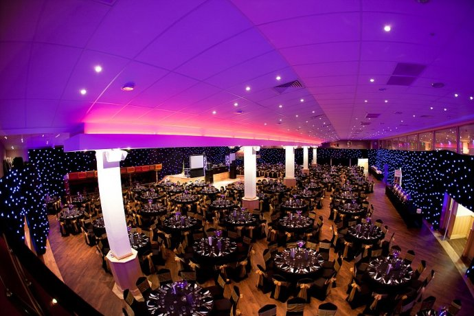 Kudos Transforms Platinum Suite Leicester For Walkers Crisps Xmas Party