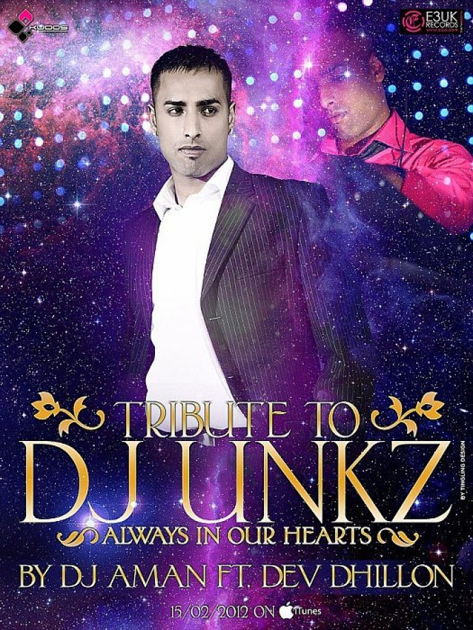 DJ Unkz Tribute To Be Released On 15th Feb 2012