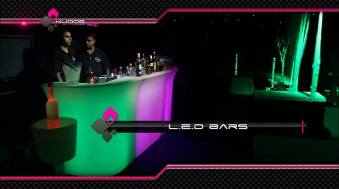 Kudos Introduce Led Furniture Hire