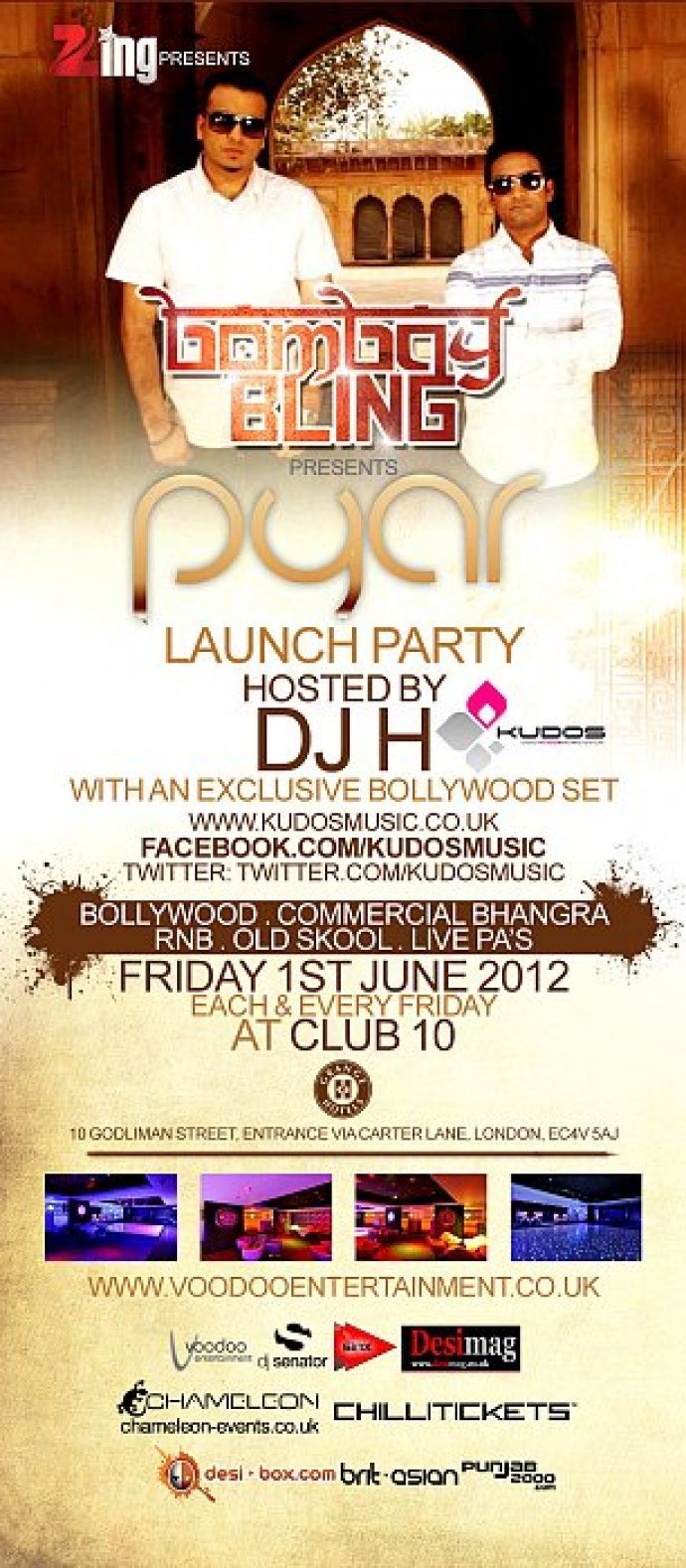 Launching Some 'pyar' With DJ H!