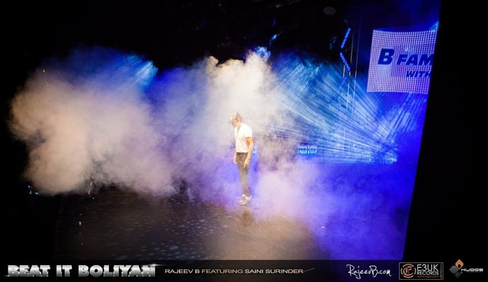 Kudos Provide Stage Production For Music Video To Beat It Boliyan!