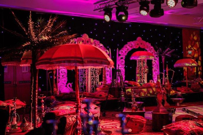 Kudos Transform Heathrow Marriot Into A Magical Arabian Wonder World!