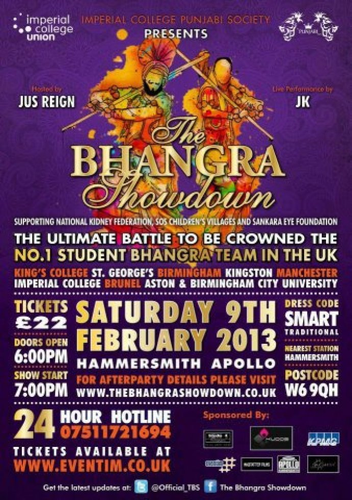 Bhangra Showdown 2013 brought to you by Kudos Music