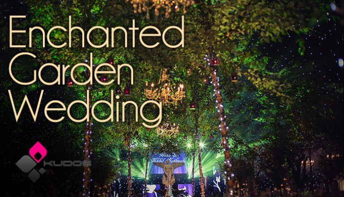 The Kudos Enchanted Garden Wedding - A Fantasy Land