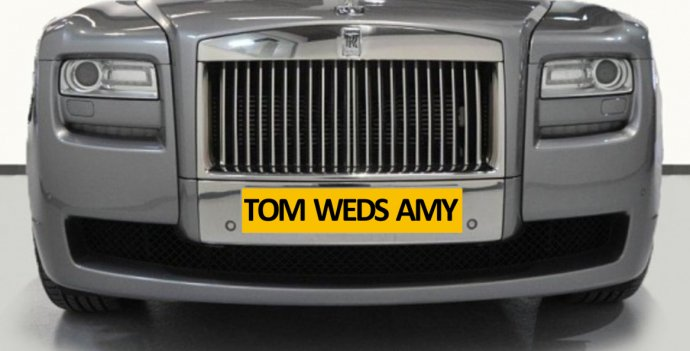 Free Personalised Number Plates