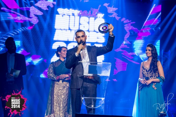 AJD named BEST DJ at the Brit-Asia Music Awards 2014!