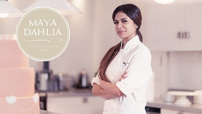 Luxury Cake designer Maya Dahlia Cakes Launches brand new website