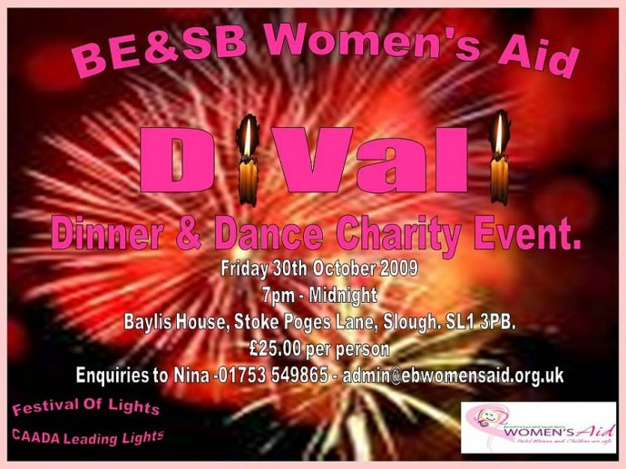 Diwali Charity Event At Baylis House, Slough
