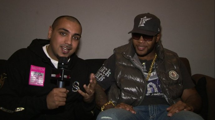 Jas Johal Catches Up With Hip Hop Star Flo-Rida