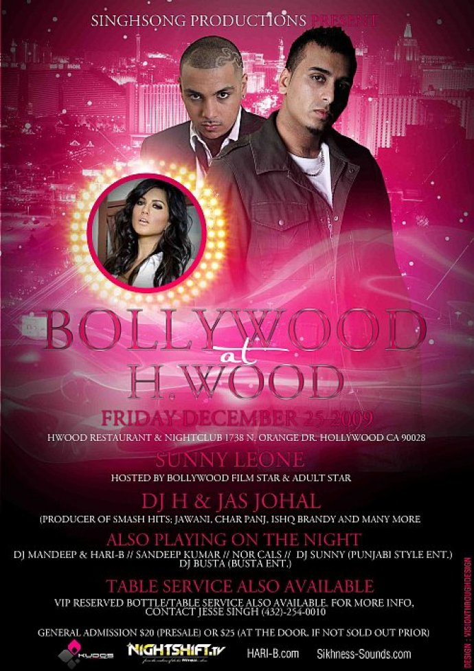 DH H And Jas Johal To Perform In L.A On Christmas Day