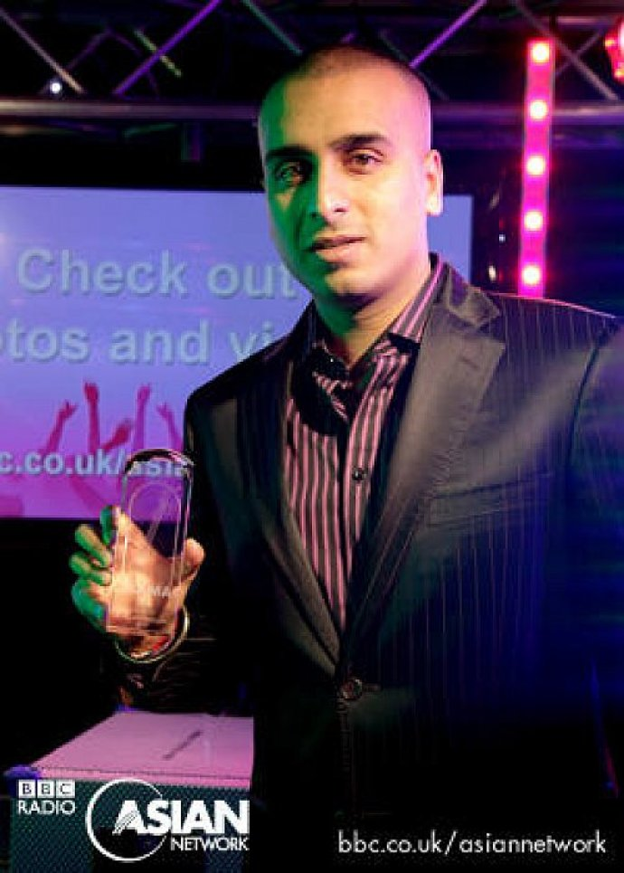 DJ H Awarded Best Club DJ Uk Amas 2010
