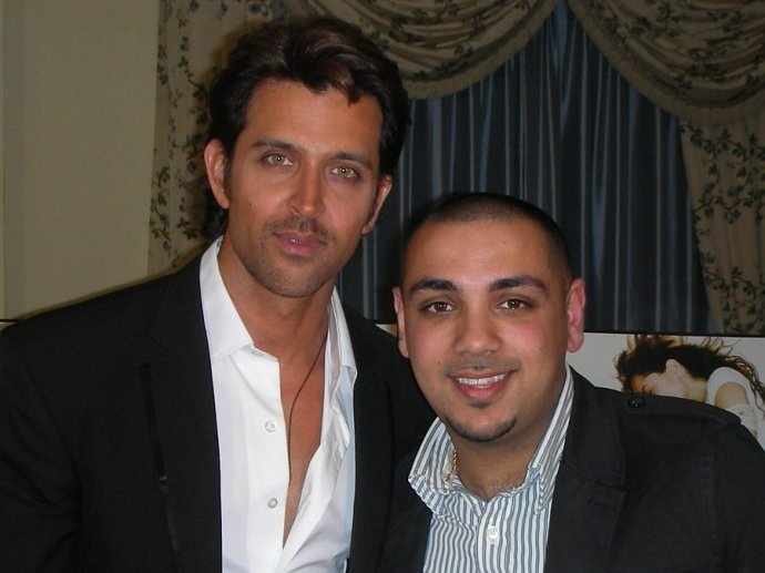 Jas Johal Meets Up With Bollywood Heartthrob Hrithik Roshan