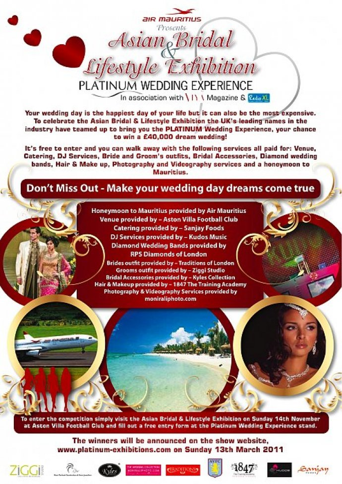 Your Chance To Win A Wedding Worth 40K
