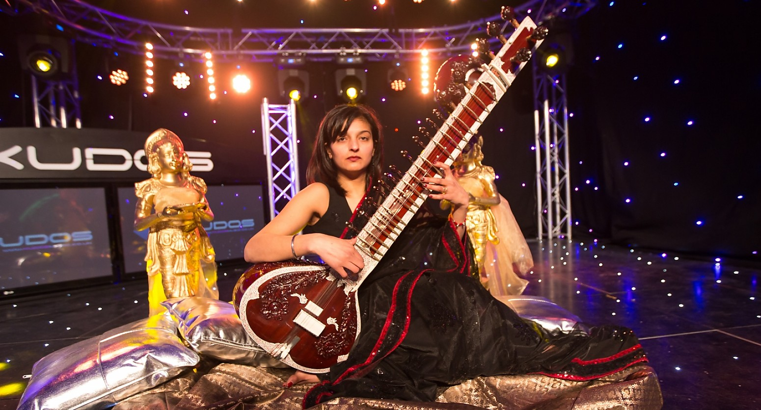 Female Sitar Player