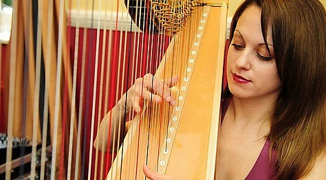 Bollywood Harpist