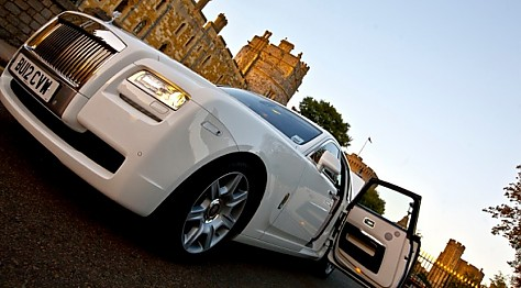 Rolls Royce White Ghost